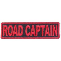Road Captain Patch Red