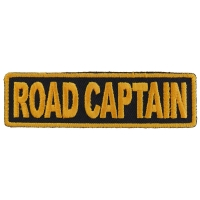 Road Captain Patch 3.5 Inch Yellow