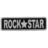 Rock Star Patch | Embroidered Patches