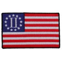 Second American Revolution Flag Patch | Embroidered Patches