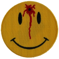Shot Smiley Patch | Embroidered Patches