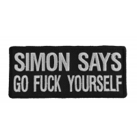Simon Says Go Fuck Yourself Patch