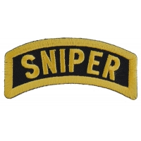 Sniper Rocker Patch | US Army Military Veteran Patches