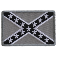 Subdued Confederate Flag Patch | Embroidered Patches