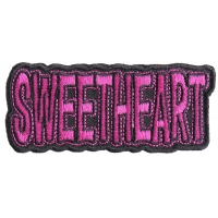 Sweetheart Patch | Embroidered Patches