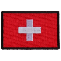 Swiss Flag Patch