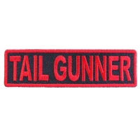Tail Gunner Patch in Red
