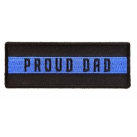 Thin Blue Line Proud Dad Patch