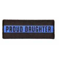 Thin Blue Line Proud Daughter Patch