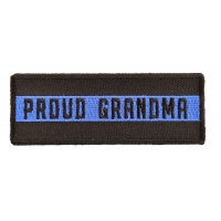Thin Blue Line Proud Grandma Patch