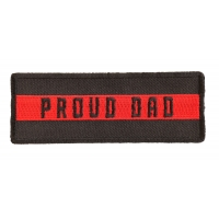 Thin Red Line Proud Dad Patch