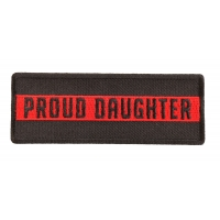 Thin Red Line Proud Daughter Patch
