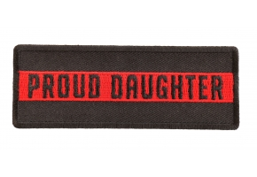 Thin Red Line Firemen Patches