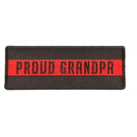 Thin Red Line Proud Grandpa Patch