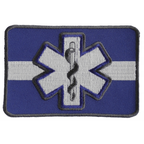 Combat Medic Patch So Others May Live 3.5x3 inch Embroidered Iron on Patch