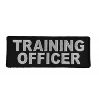 Training Officer Patch | Embroidered Patches