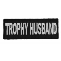 Trophy Husband Patch | Embroidered Patches