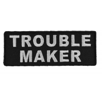 Trouble Maker Patch | Embroidered Patches