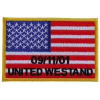 United We Stand 91101 Flag Patch | Embroidered Patches