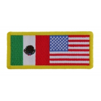 USA Mexico Patch | Embroidered Patches