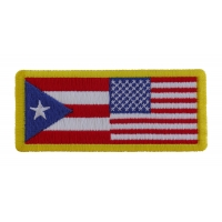 USA Puerto Rico Patch | Embroidered Patches