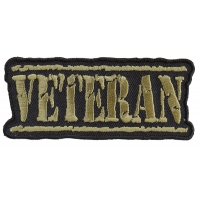 Veteran Patch Old Stamper Green | US Military Veteran Patches