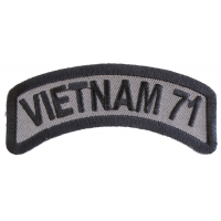 Vietnam 1971 Patch | US Military Vietnam Veteran Patches