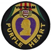 Vietnam Purple Heart Patch | US Military Vietnam Veteran Patches