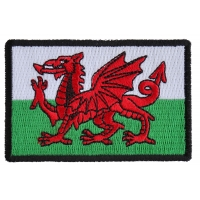 Wales Flag Patch