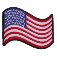 Waving US Flag Patch | Embroidered Patches