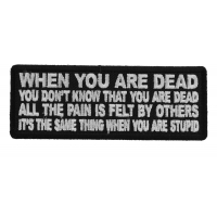 When You are Dead You Don't Know That You are Dead Patch