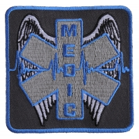 Winged Medic Patch | Embroidered EMT Patches