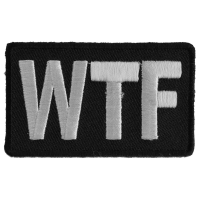 WTF Patch | Embroidered Patches