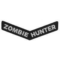 Zombie Hunter Stripe Patch | Embroidered Patches