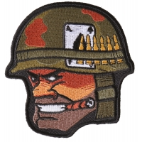 Soldier Cigar Ace of Spades Bullets and Helmet Patch