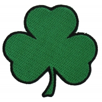 3 Leaf Clover Shamrock Patch | Embroidered Patches
