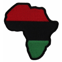 African Map Patch | Embroidered Patches