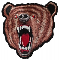 Bear Patch Large | Embroidered Patches