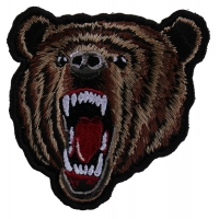 Bear Patch Small | Embroidered Patches