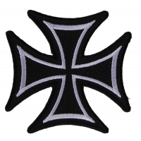 Biker Cross Patch