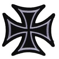 Biker Cross Patch