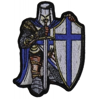 Blue Knight Small Patch | Embroidered Patches