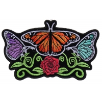 Butterflies and Flower Ladies Patch