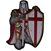 Crusader Knight Large Patch | Embroidered Patches