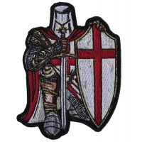 Crusader Knight Patch Small | Embroidered Patches
