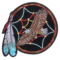 Eagle Dreamcatcher Small Patch | Embroidered Patches