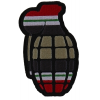 Grenade Patch Iraq War Colors | US Iraq War Military Veteran Patches