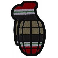 Grenade Patch Iraq War Colors | US Iraq War Military Veteran Patches