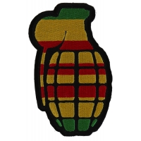 Grenade Patch Vietnam Colors | US Military Vietnam Veteran Patches