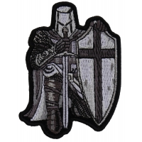 Kneeling Knight Crusader Mini Patch